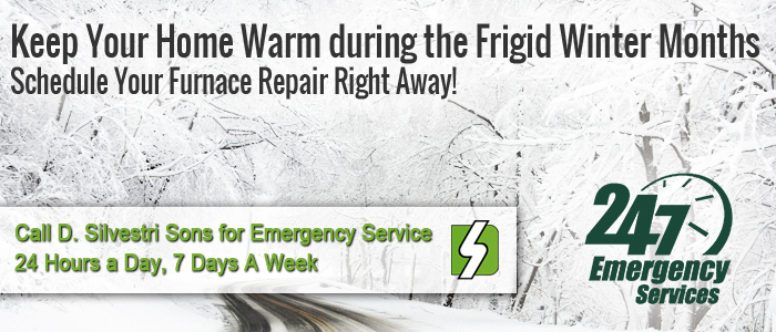 Call D. Silvestri Sons, Inc. for your Furnace repair in  right away!