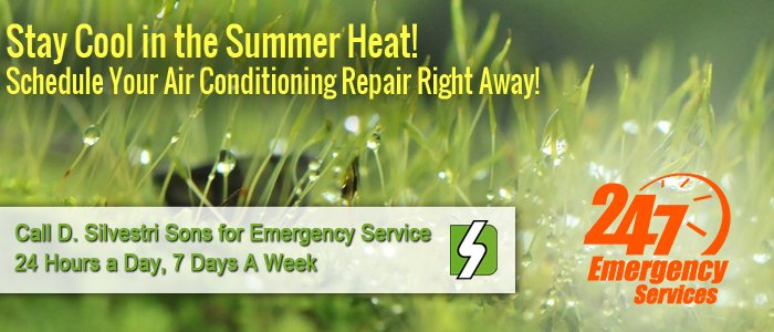 Call D. Silvestri Sons, Inc. for your AC repair in  right away!